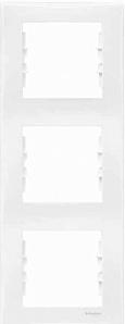 SDN5801321 Рамка х3 вертик., бел.  купить в Москве, цена в России: опт, розница | smartipad.ru