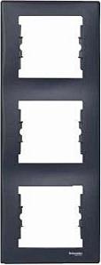 SDN5801370 Рамка х3 вертик., графит  купить в Москве, цена в России: опт, розница   smartipad.ru