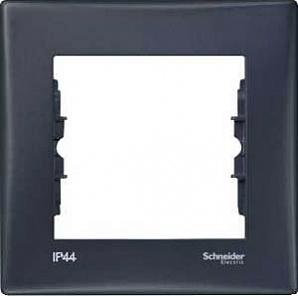 SDN5810170 рамка 1 место IP44 графит  купить в Москве, цена в России: опт, розница | smartipad.ru