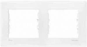SDN5810321 рамка 2 места гориз IP44 бел  купить в Москве, цена в России: опт, розница | smartipad.ru