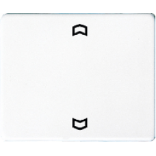 SL5232FGB SL 500 БронзаНакладка нажимного электронного жалюзийного выключателя с ДУ (радио)