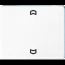 SL5232FWW SL 500 БелНакладка нажимного электронного жалюзийного выключателя с ДУ (радио)