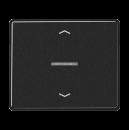 SL5232SW SL 500 ЧерныйНакладка нажимного электронного жалюзийного выключателя