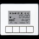 SL5232T3SW SL 500 ЧерныйНакладка жалюзийного выключателя УНИВЕРСАЛ с таймером(мех.230ME,232ME,224ME)