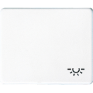 SL590LWW SL 500Бел Клавиша 1-я с символом ОСВЕЩЕНИЕ