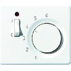 SLFTR231PLWW SL 500 БелНакладка регулятора теплого пола(мех.FTR231U)