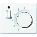 SLTR231PLGB SL 500 БронзаНакладка термостатакомнатного с выключателем(мех TR231U,TR241U)