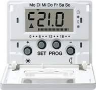 SLUT238DSW SL 500 ЧерныйДисплей термостата с таймером(мех. UT238E)