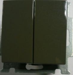 B 2006/6/6 UC-95-507 BJB Basic 55 DIY Шато (чёрн) Переключатель 2-х клавишный