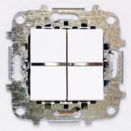 Z2102 BL NIE Zenit Бел Переключатель 2-клавишный 2 мод