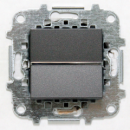 Z2201 AN NIE Zenit Антрацит Выключатель 1-клавишный 2 мод