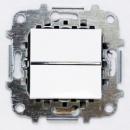 Z2201 BL NIE Zenit Бел Выключатель 1-клавишный 2 мод