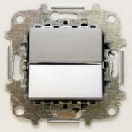 Z2201 PLI NIE Zenit Серебро Выключатель 1-клавишный с индикацией 2 мод