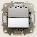Z2201 PL NIE Zenit Серебро Выключатель 1-клавишный 2 мод