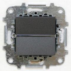 Z2202 AN NIE Zenit Антрацит Переключатель 1-клавишный 2 мод