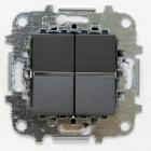 Z2260.1 AN NIE Zenit Антрацит Светорегулятор нажимной 60-500W универсальный, 2 мод