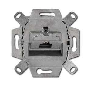 0230-0-0410 BJE Мех Компьютерная/телефон.розетка 1-пост.UAE, 8 полюсов, RJ45, кат.6е, 500 МГц