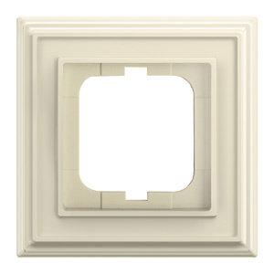 1754-0-4600 (1721-832-500) BJE Династия Слоновая кость Рамка 1-ая