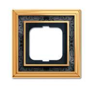 1754-0-4575 (1721-833-500) BJE Династия Полированная латунь/Черная роспись Рамка 1-ая