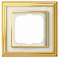 1754-0-4560 (1721-838-500) BJE Династия Полированная латунь/Белое стекло Рамка 1-ая