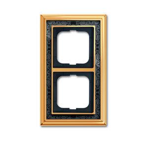 1754-0-4576 (1722-833-500) BJE Династия Полированная латунь/Черная роспись Рамка 2-ая