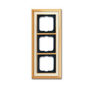 1754-0-4562 (1723-838-500) BJE Династия Полированная латунь/Белое стекло Рамка 3-ая