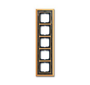 1754-0-4579 (1725-833-500) BJE Династия Полированная латунь/Черная роспись Рамка 5-ая