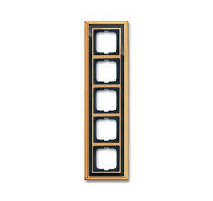 1754-0-4569 (1725-835-500) BJE Династия Полированная латунь/Черное стекло Рамка 5-ая