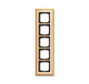 1754-0-4564 (1725-838-500) BJE Династия Полированная латунь/Белое стекло Рамка 5-ая