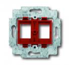 1753-0-9972 (1753-0-8055) BJE Мех Суппорт для 2-х неэкранированных разъемов фирм AMP и RADIALL