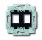 1753-0-9973 (1753-0-8063) BJE Мех Суппорт для 2-х коммуникационных разъемов AMP