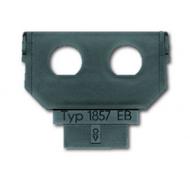 1764-0-0083 (1857 EB) BJE Мех Цоколь под 2 разъёма BNC/TNC к суппортам 1758 хх