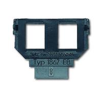 1764-0-0182 (1867 EB) BJE Мех Суппорт ТЛФ-2 для разъемов 0210,0211