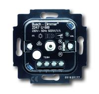 6512-0-0302 (6512-0-0057) (2247 U) BJE Мех Светорегулятор поворотный для л/н, галоген ламп с обмот трансф 500W