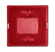 2664-12-101 BJE Ocean/Allwetter 44 Линза красная для светового сигнализатора