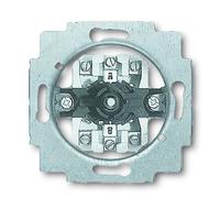 1101-0-0542 (2713 U) BJE Мех Выключатель 1P+N+E поворотный под замок для жалюзи (с фиксацией)
