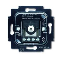 6513-0-0586 (6513-0-0568) (6513 U-102) BJE Мех Светорегулятор поворотный для л/н, галоген ламп с электрон трансф 420W