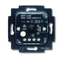 6517-0-0018 (6517-0-0016) (6517 U-101) BJE Мех Светорегулятор поворотный для л/н, обм тран (с отд выходом-выкл 6А), 400W