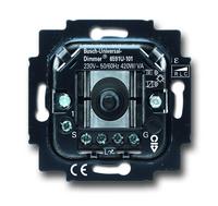 6513-0-0588 (6513-0-0587) (6591 U-101) BJE Мех Светорегулятор поворотный универсальный 420W/VA (л/н+эл тр-р или л/н+обм тр-р)