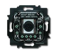 6590-0-0171 (6590-0-0169) (6593 U) BJE Мех Светорегулятор клавишный нажимной универсальный 420W/VA (л/н+эл тр-р или л/н+обм тр-р
