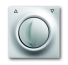 1753-0-0033 (1740 DR-783) BJE Impuls Серебро металлик Накладка выключателя жалюзийного поворотного