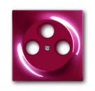 1753-0-0108 (1743-03-777) BJE Impuls Бордо Накладка TV розетки (TV+FM+SAT)