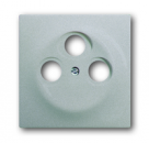 1753-0-0038 (1743-03-783) BJE Impuls Серебро металлик Накладка TV розетки (TV+FM+SAT)