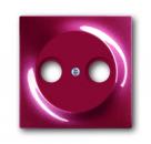 1753-0-0109 (1743-777) BJE Impuls Бордо Накладка TV розетки (TV+FM)