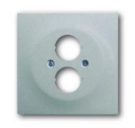 1753-0-0049 (1751-783) BJE Impuls Серебро металлик Аудиорозетка 2-ая