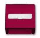 1753-0-0115 (1758-777) BJE Impuls Бордо Накладка с суппортом для коммуникационных разъёмов