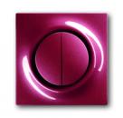 1753-0-0105 (1785-777) BJE Impuls Бордо Клавиша 2-ая с подсветкой