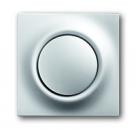 1753-0-0067 (1786-783) BJE Impuls Серебро металлик Клавиша 1-ая с подсветкой