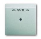 1753-0-0080 (1792-783) BJE Impuls Серебро металлик Накладка карточного выключателя (мех 2025 U)