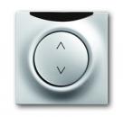 6020-0-1386 (6066-783-101) BJE Impuls Серебро металлик Накладка светорегулятора с ДУ